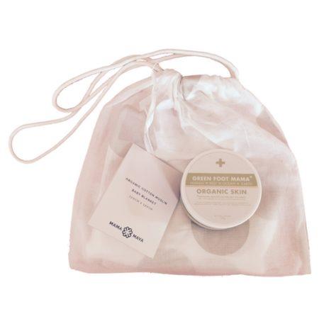 Organic Skin + Mama Maya wrap