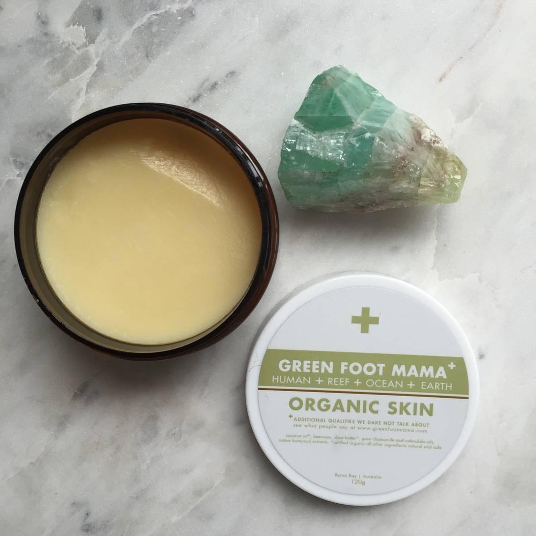 organic face balm