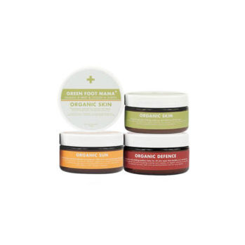 Trio Pack - Organic Sun, Skin, Defence