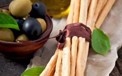 Healthy Italian Breadsticks – Wholemeal Grissini